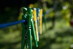 Clothespins Lizenzfreie Stockfotografie