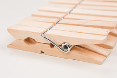 Clothespins Imagens de Stock Royalty Free
