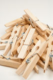 Clothespins Fotografia de Stock Royalty Free