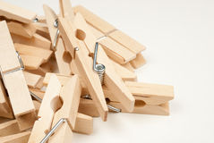 Clothespins Imagem de Stock