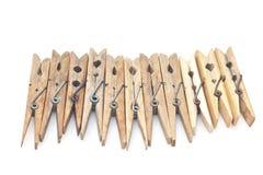Clothespins Royalty Free Stock Photos