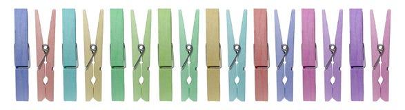 clothespins Стоковые Фото