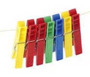 Clothespins stockfoto