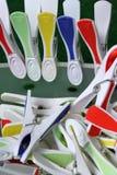 clothespins Στοκ Φωτογραφίες