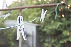 clothespins Foto de Stock Royalty Free