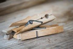 clothespins Στοκ Φωτογραφία