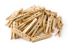 Clothespins Stock Photos