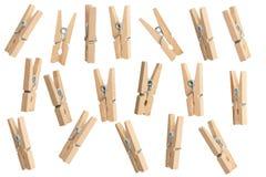 clothespins Lizenzfreies Stockbild