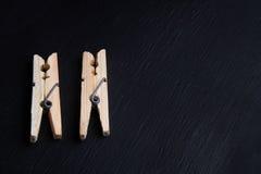 clothespins Zdjęcia Royalty Free