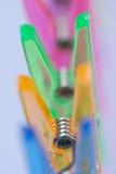 Clothespins abstract Stock Photos