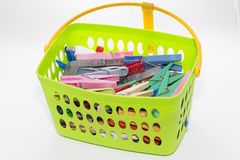 Clothespins. Stock Photos