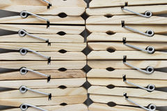 Clothespins Royalty Free Stock Photography