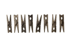 Clothespins Stock Images
