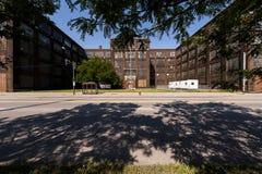 Clothing abandonada Manufacturing Company, Cleveland, Ohio Imágenes de archivo libres de regalías