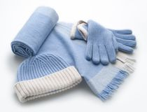 Clothing accessories Royalty Free Stock Photography