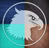 Clothing and accessories eagle Stock Photography