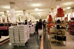 Clothing apparel store holiday shopping  Stock Photos