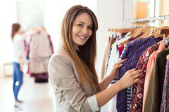 Clothing boutique Royalty Free Stock Images