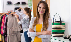 Clothing boutique Stock Images