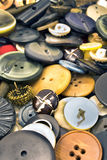 Clothing buttons collection Royalty Free Stock Images