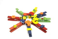 Clothing Clips Stock Images