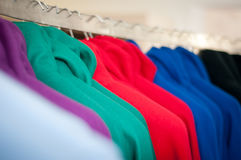 Clothing closet Stock Photography
