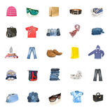 Clothing collection Royalty Free Stock Images