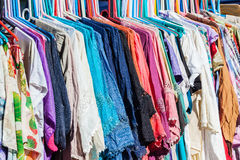 Clothing Colors Home Made Royalty Free Stock Photo