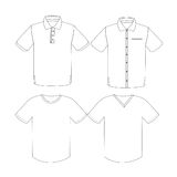 Clothing Concept Vector Royalty Free Stock Photo