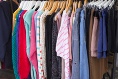 Clothing Department Royalty Free Stock Images