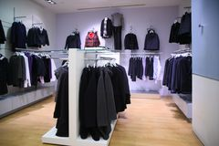 Clothing department Royalty Free Stock Photography