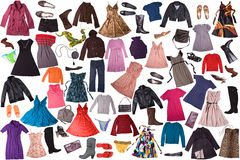 Clothing - fashion background Stock Photo