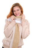 clothing girl winter στοκ εικόνες