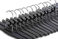 Clothing hanger Royalty Free Stock Photography