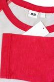 clothing label Stock Photo
