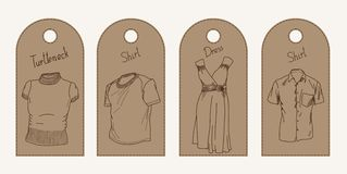 Clothing label Royalty Free Stock Images
