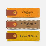 Clothing labels. Vector. Stock Photo
