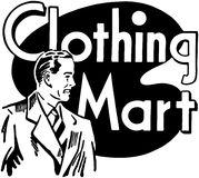 Clothing Mart Royalty Free Stock Image