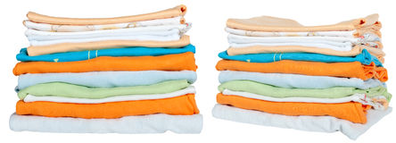 Clothing for newborns Royalty Free Stock Image