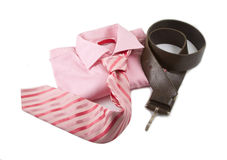 Clothing in pink Royalty Free Stock Images