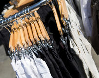 Clothing Rack Royalty Free Stock Photography