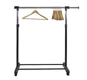 Clothing Rack Stock Image