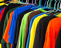 Clothing retail store Royalty Free Stock Photography
