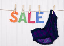 Clothing SALE Stock Photography
