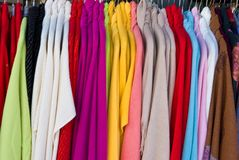 Clothing for sale Stock Image