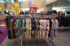 Clothing sales Stock Photo