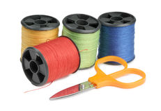 Clothing scissors Stock Images