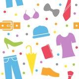 Clothing Seamless modell Arkivbild