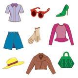 clothing set Arkivbild