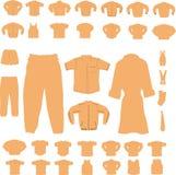 Clothing Set Royalty Free Stock Photography